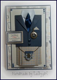 a card made using heritage press papers by docrafts