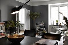 Kreativa Kvadrat: Inspirerande lägenhet! Lördagsinspiration!