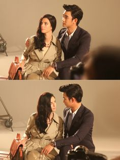 Kim Soo Hyun and Kaya Scodelario's photo shoot for J.ESTINA