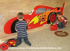 Top 15 Disney Cars Games for a great birthday party. Cool car games for all ages including racing games. See all Cars party ideas, DIY invitations, decorations and party favors. Disney Cars Games, Disney Cars Party, Disney Cars Birthday, Disney Parties, Mickey Birthday, Lightning Mcqueen Party, Lightening Mcqueen, Race Car Birthday, Race Car Party