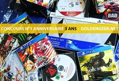 #Concours Anniversaire 3 ans du Blog : Méga lot de jeux #PS4 et Goodies à gagner :) (Uncharted 4 Gravity Rush Dark Souls 3.....). Suivez le compte Commentez/likez la photo Détails et conditions ici : http://ift.tt/2en4lgv  #blog #gaming #jeuxvideo #anniversaire