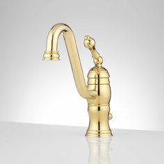 Photos Of Rhonda Single Hole Bathroom Faucet Bathroom Sink FaucetsPolished BrassProduct