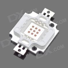 DIY 10W 500lm Square LED Red Light Module. Model 6940 Material Plastic + aluminum Color White Quantity 1 Total Emitters 1 Power 10 W Color BIN Red Rate Voltage 6~8 V Luminous Flux 400~500lm lm Color Temperature No K Application LED ceiling light, LED downlight, LED lamps, LED Bulb, LED spotlights, LED mining lamps, LED tunnel lights, LED track lights and so on Other Current: 1050mA; Wavelength: 635~700nm Packing List 1 x LED module. Tags: #Lights #Lighting #Bulbs #and #Strips #LED #Bulb…
