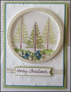 think this would make a good snowglobe card