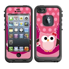 Skins FOR the Lifeproof iPhone 5 Original Case Pink by ItsASkin, $9.95