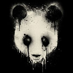 Panda Drip is a T Shirt designed by dzeri29 to illustrate your life and is available at Design By Humans