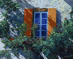 Guido Borelli - la finestra e le ombre