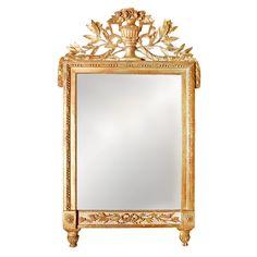 French, Empire Mirror
