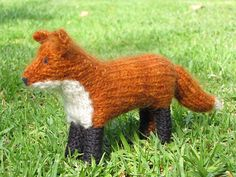 Ravelry: Copper the Red Fox pattern by Linda Dawkins