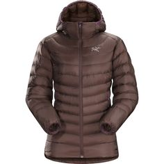 Arc'teryx Cerium LT Hooded Down Jacket - Women's Outdoor Outfit, Jackets Online, Hoods, Jackets For Women, Winter Jackets, Shopping, Clothes, Cherry, Chocolate