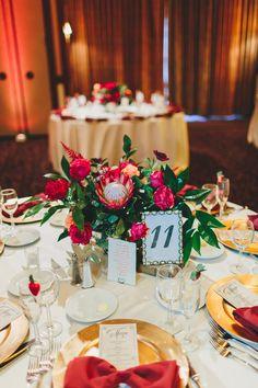 autumn wedding centerpiece, photo by Nicole Baas Photography http://ruffledblog.com/seasonal-autumn-wedding-in-new-england #weddingideas #centerpieces #tablescape