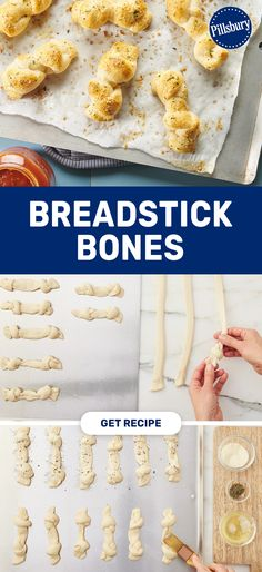 Need an appetizer for a party? This kid-friendly recipe is always a family favorite. Use Pillsbury Breadsticks, parmesan cheese, and basil leaves to create these easy breadsticks. Pull these together in 30 minutes, and serve with warm pizza sauce. Basil Leaves, Halloween Snacks, Pillsbury, Dinner Rolls, Kid Friendly Meals, Parmesan, Uni, Meal Prep, Foodies