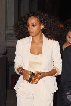 celebritiesofcolor:  Solange Knowles at ABC Kitchen in NYC