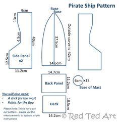 Pirate ship dimensions    followpics.co