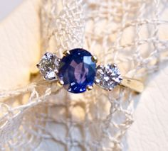 Oh so pretty! Sapphire would be what I want on my engagement ring :D maybe a different shape though