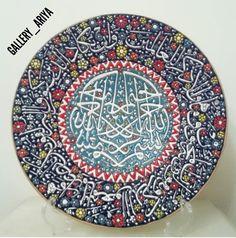 Persian plate art
