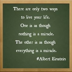 Albert Einstein's quotes.