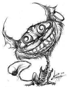 Cheshire cat by DiegoTomasiniDIBRUJO on deviantART