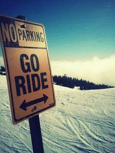 Snowboarding season