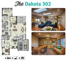 The Dakota 302 is a large family home with separate living spaces for everyone.