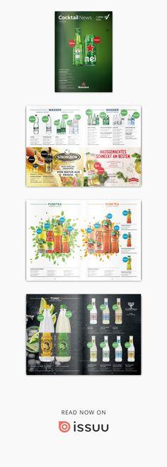 Das NEUE Cocktail News 01/19 von HEINEKEN (StarDrinks) by Wave  Der monatliche Newsletter der Firma StarDrinks. Ein Muss für alle Gastronomen in der Schweiz. #lovemyjob  #lovegraphicdesign #wave #advertising #lucerne #switzerland Advertising, Cocktails, Waves, News, Heineken, Home Made, Switzerland, Craft Cocktails, Cocktail