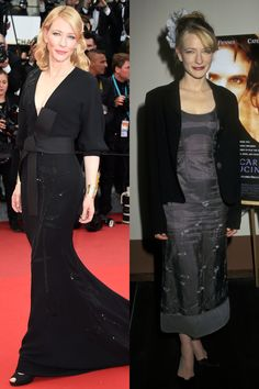 CATE BLANCHETT 2015: At the Cannes Film Festival Then: At the premiere of Oscar And Lucinda in 1997   - ELLE.com