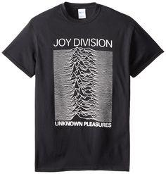 Unknown Pleasures Joy Division T-Shirt adulte, Medium, Black