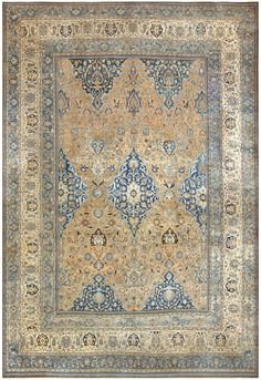 Antique Persian Khorassan Carpet 50158