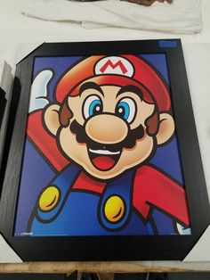 Mario bros brothers video game wood sign on Mercari Small Canvas Paintings, Easy Canvas Art, Small Canvas Art, Cute Paintings, Mini Canvas Art, Acrylic Painting Canvas, Disney Drawings Sketches, Cool Art Drawings, Toile Disney