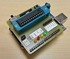 Picture of Arduino UNO As AtMega328P Programmer