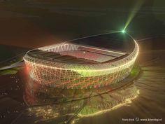 De Schuit wordt niet het nieuwe stadion van Feyenoord. De Doos waarschijnlijk ook niet.