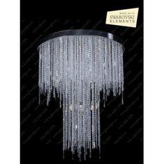 Nowoczesna, kryształowa lampa wisząca z serii 270 - producent Glass LPS. #Glass_LPS #270 #kryształowe_lampy #kryształ #Swarovski #modne_lampy #nowoczesne_lampy #design #lampy_kraków #abanet_kraków