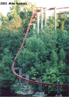 Big Bad Wolf - Busch Gardens. Got to ride this durning its final season. Great coaster.