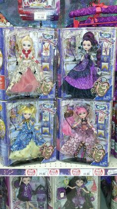 """Ever After High """"Thronecoming"""" Dolls."""