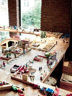 Chambres d'enfants : Playmobil, mettre en scène ses histoires!