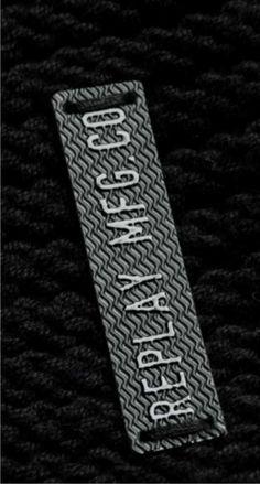 aplique metalico replay jeans
