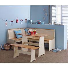 Buy Haversham Pine Effect Dining Table With Nook Corner Bench At Argosco