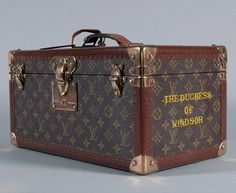 Louis Vuitton Vanity Case - Owned by Wallis Simpson, The Duchess of Windsor - @~ Mlle