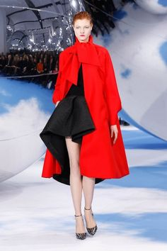 fall 2013 2014 trends STATEMENT COAT | 2013 Fall Collection by Christian Dior | Fashion Trends 2013-2014 ...