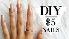Super Nails Acrylic Diy At Home 57 Ideas Acrylic Nails At Home, Diy Nails At Home, Gel Nail Designs, Simple Nail Designs, Nails Design, Nagel Hacks, Kiss Nails, Polygel Nails, Glue On Nails
