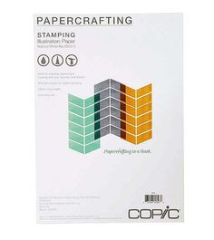 Copic STAMPING ILLUSTRATION PAPER A4 by SeptemberPlayground