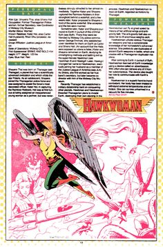 DC Comics Showcase, Who's Who entry: Hawkwoman, art by Paul Smith,...