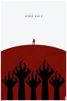 Awesome Set of WORLD WAR Z Fan-Made PosterArt - News - GeekTyrant