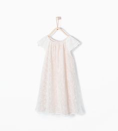 Dresses Zara Baby Girl White Floral Butterfly Dress Age 12-18 1-1.5 Wedding Party Girls' Clothing (newborn-5t)