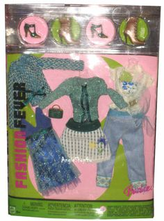 Barbie Fashion Fever Fashion New in Box | eBay