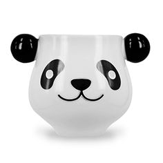 This sleeping panda mug wakes up when you pour a hot beverage into his noggin. The heat-sensitive paint on the mug turns him into wide-awake panda and turns you into wide awake human if that hot beverage was coffee.