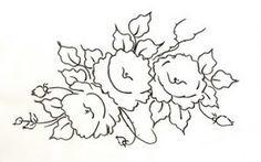 Artes da Nil - Riscos e Rabiscos: riscos de rosas