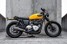 ϟ Hell Kustom ϟ: Triumph Bonneville By Macco Motors
