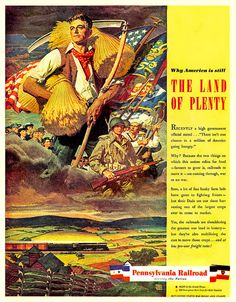 1944 ... land of plenty! by x-ray delta one, via Flickr
