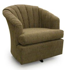 Chairs - Swivel Barrel Elaine Swivel Barrel Chair by Best Home Furnishings